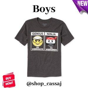 Boys' Genius/Ninja Graphic T-Shirt